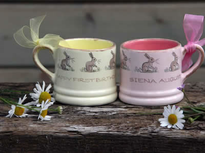 Easter gift pottery and easter ceramics presents from gabriella shaw easter pottery and easter gifts ceramics negle Images