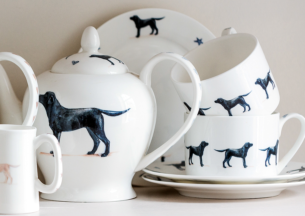Bespoke Ceramic Dog China Pottery