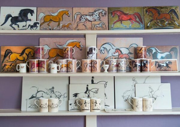 Horse Bespoke China Personalised Pottery