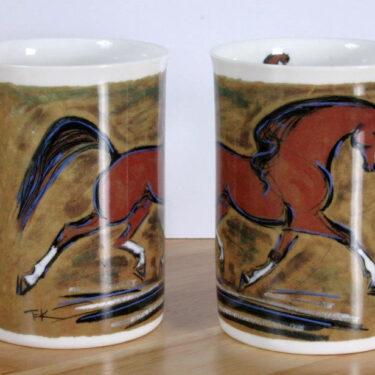 Bay Horse Bone China Mug