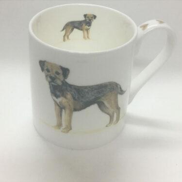 Border Terrier Bone China Mug
