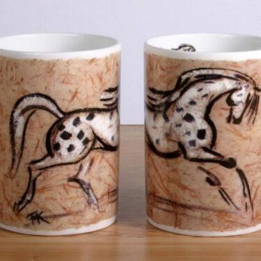 Appaloosa Horse Bone China Mug