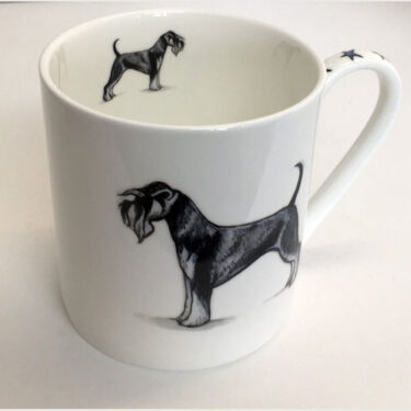 Straight Sided Bone China Pint Mug