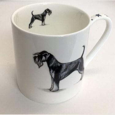 Straight Sided Bone China Pint Mug