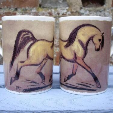 Dun Horse Bone China Mug