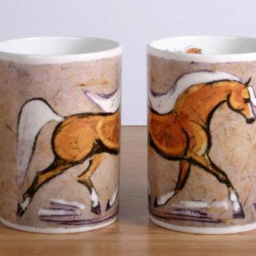 Palomino Horse Bone China Mug