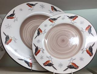 Robin Plates. From £95.