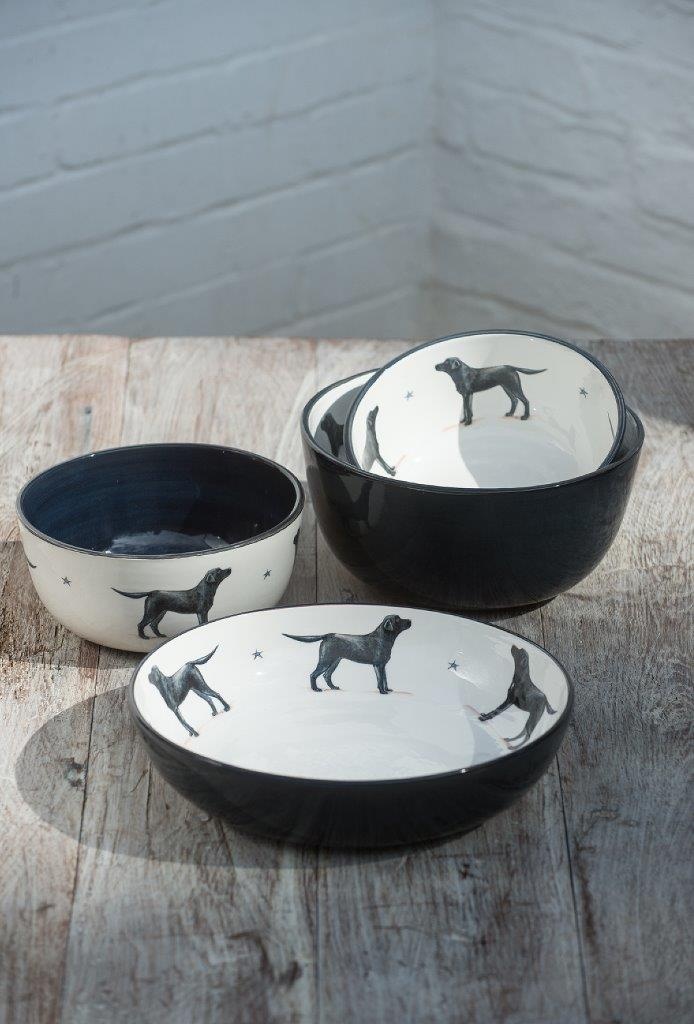 Black Lab Pottery Collectio