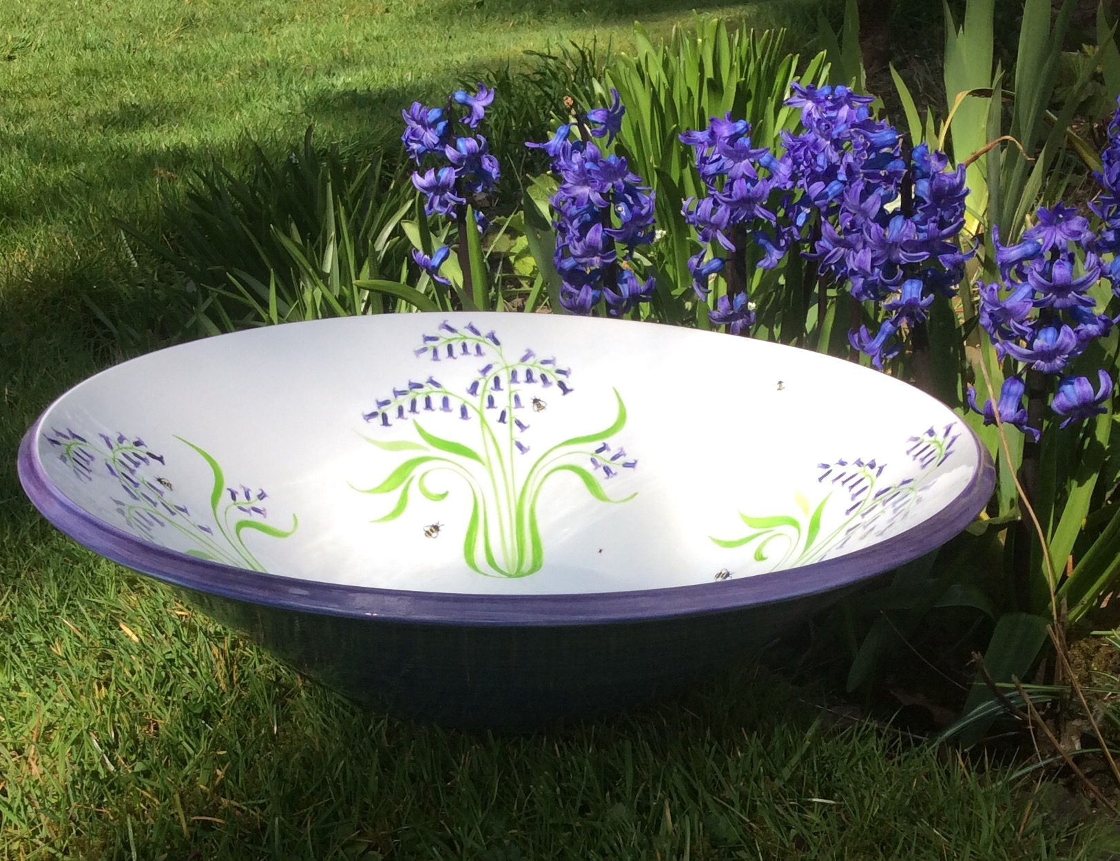 Bluebell Centrepiece Bowl. From £95.