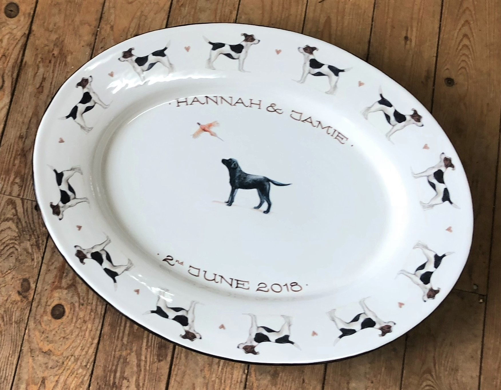 Personalised Oval Platter