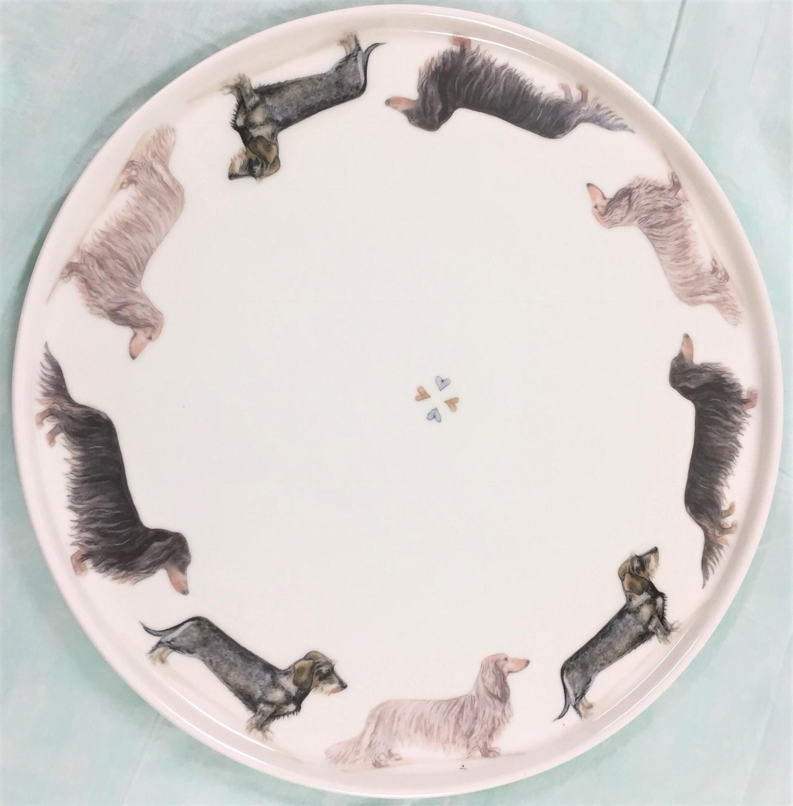 Dachshund Cake Plate