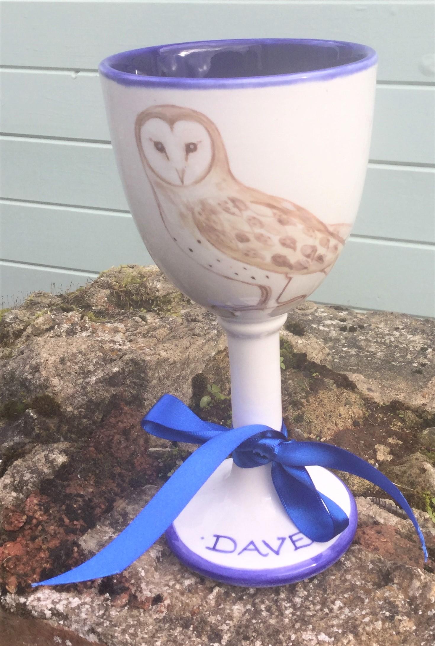 Pottery Goblet