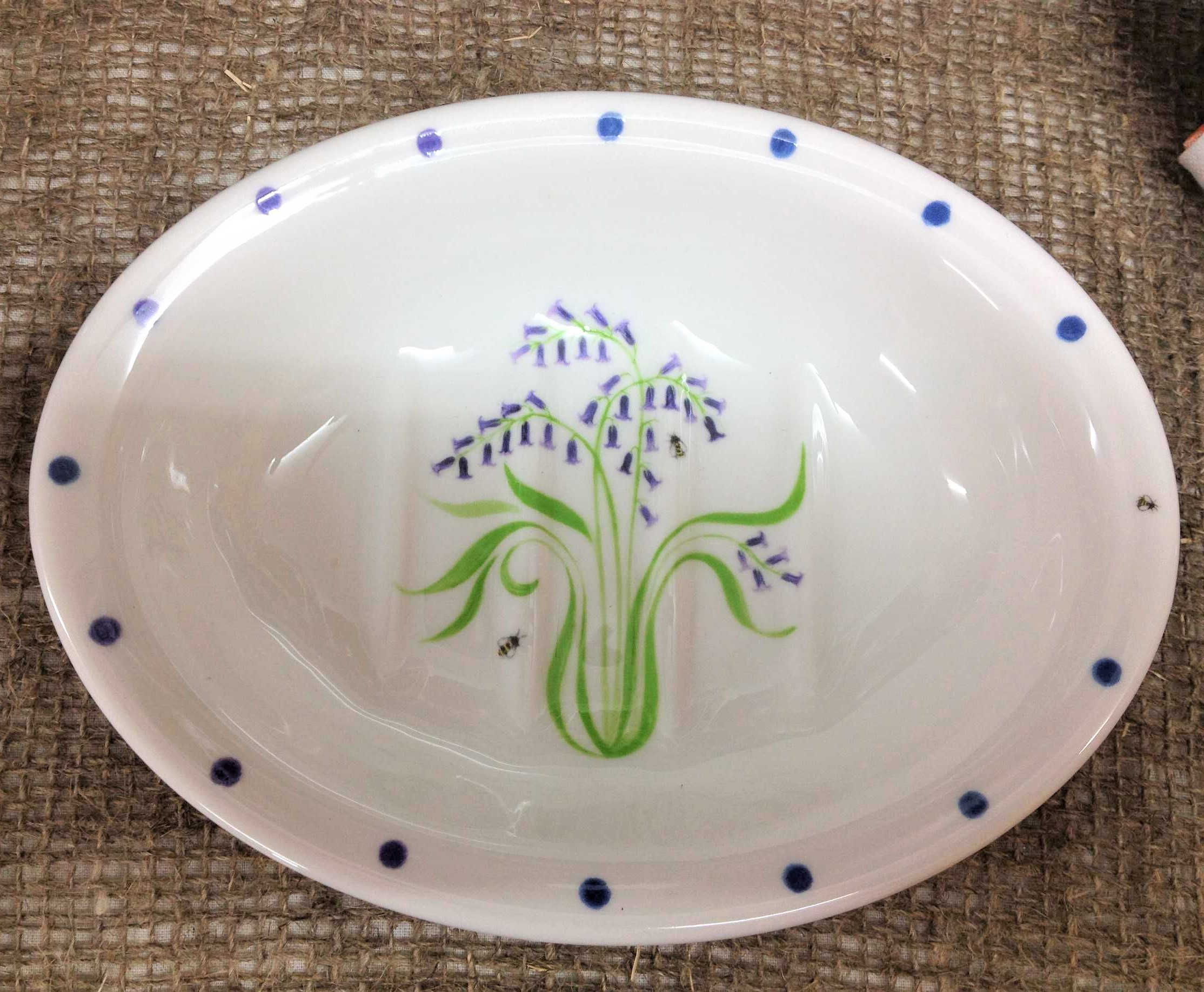Bluebell Soap Dish £16.50