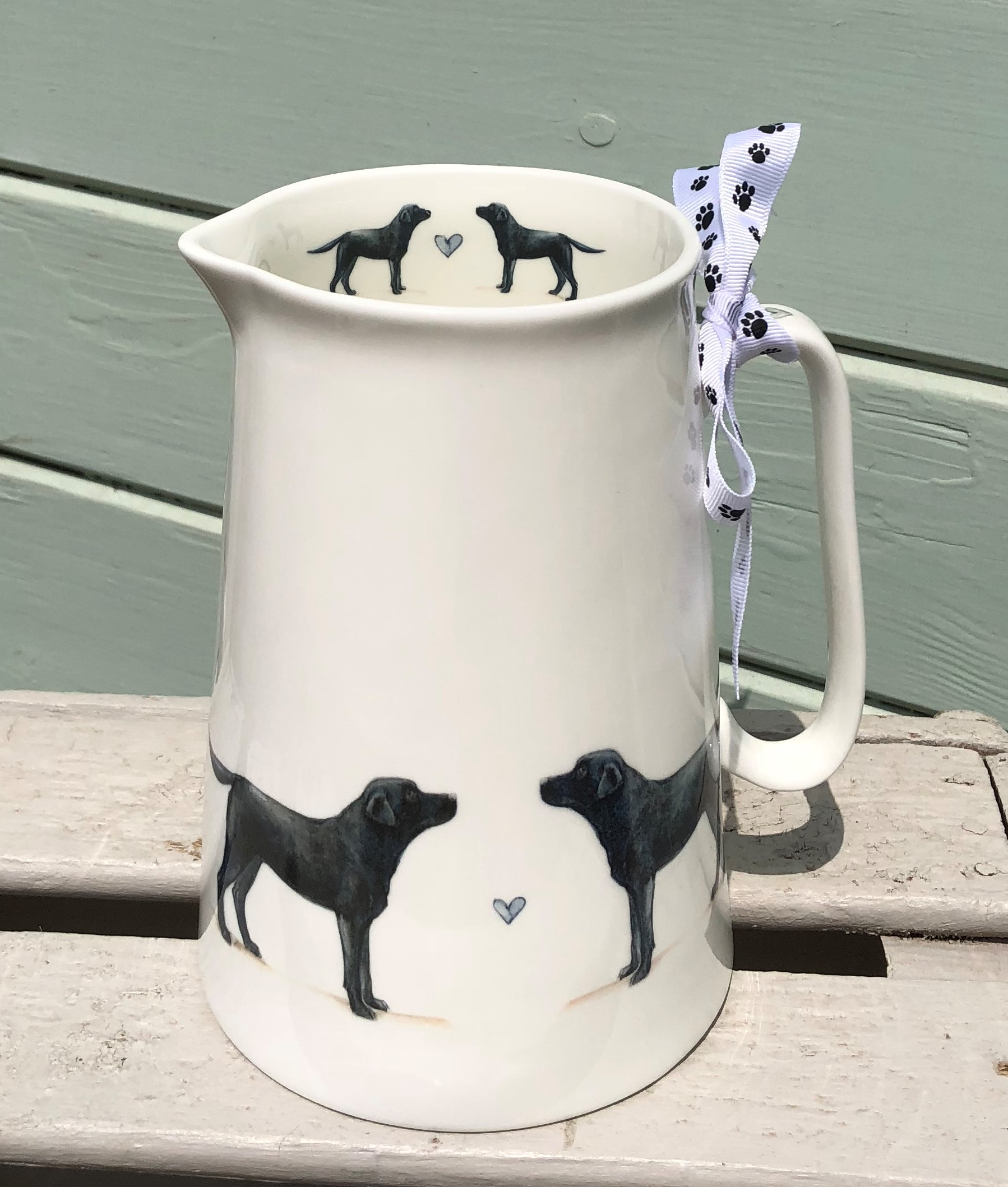 Black Labrador 3 Pint Jug.  From £32.50.