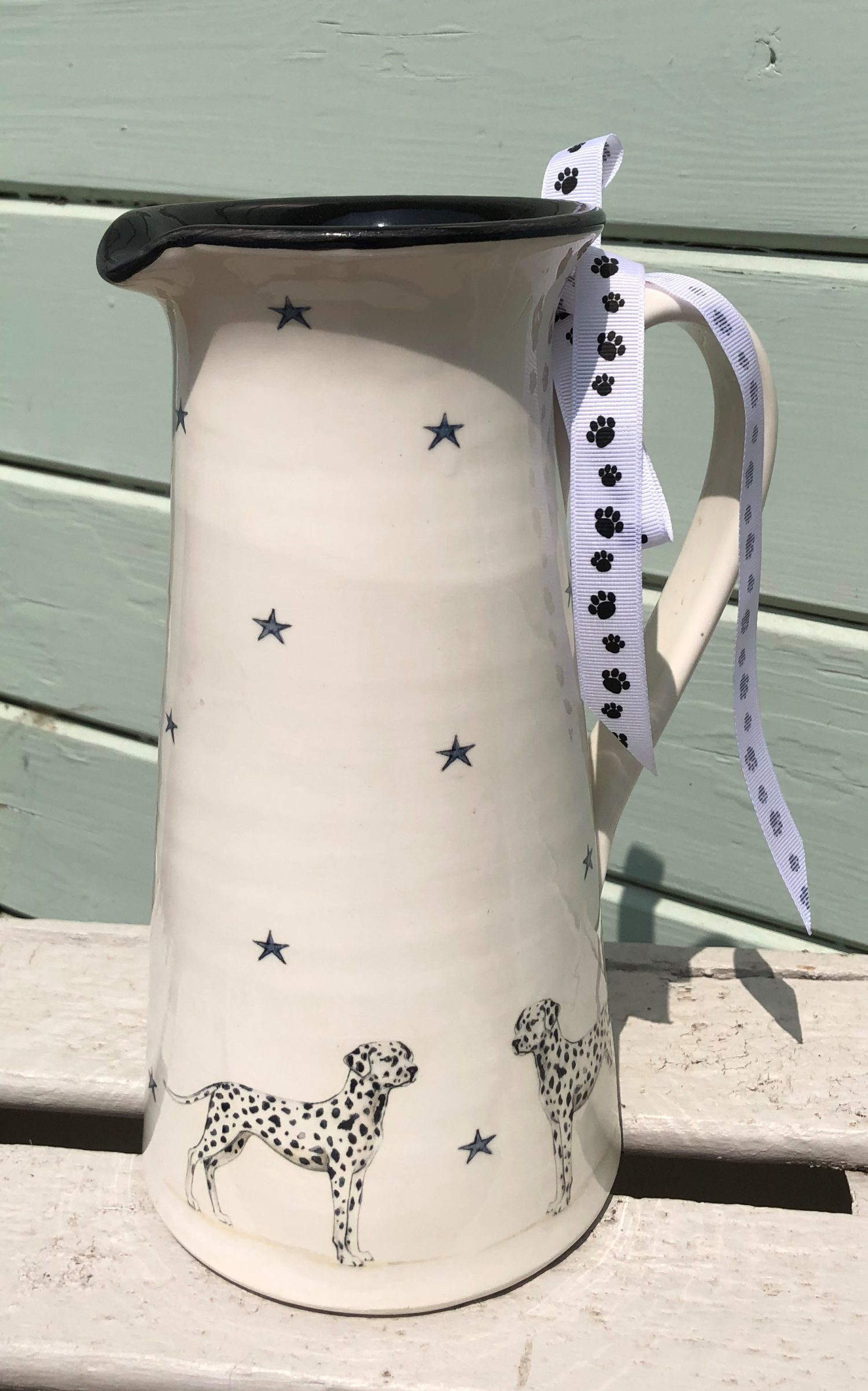 Dalmatian Tall Jug. From £85.