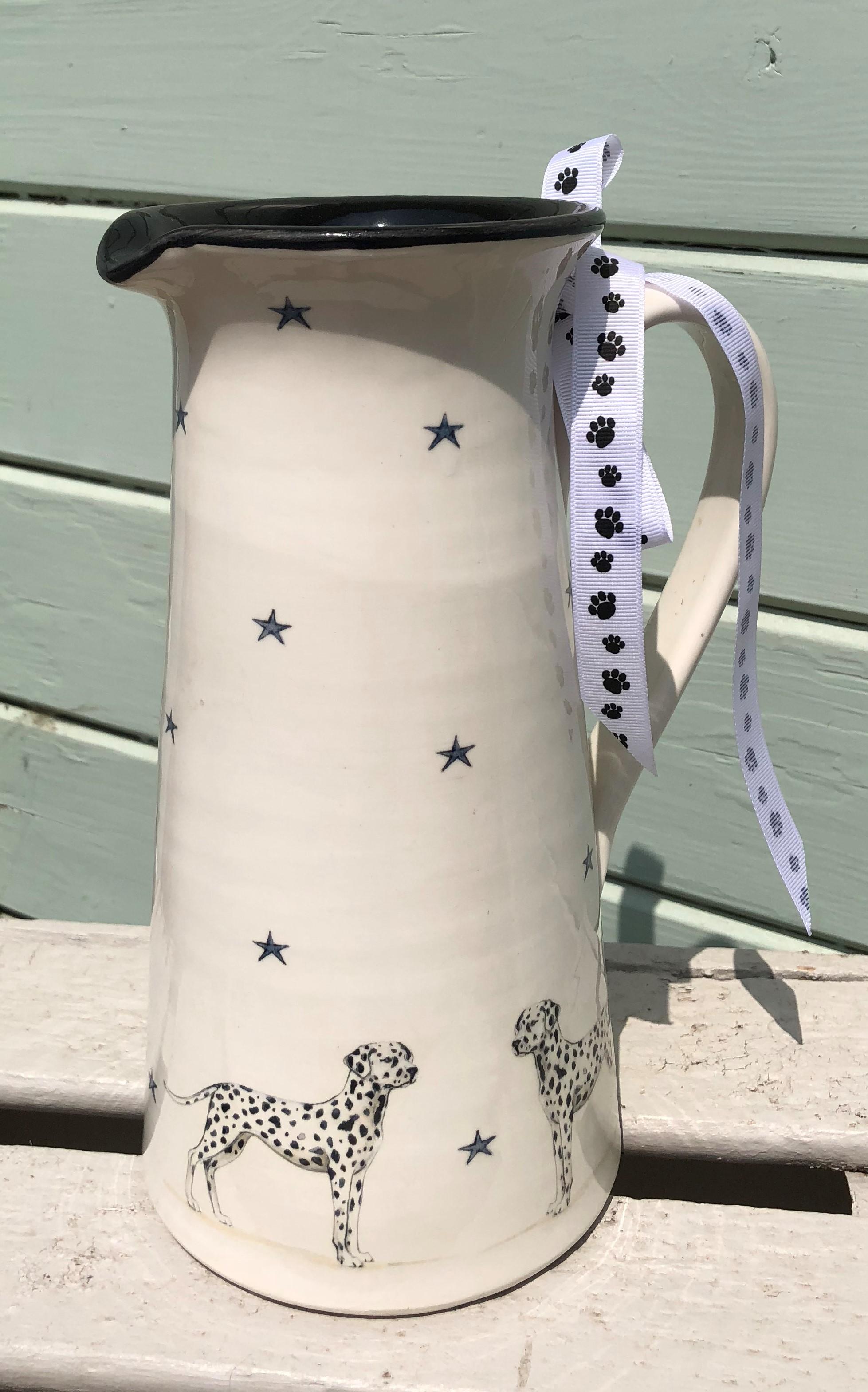 Dalmatian Tall Jug. From £85.