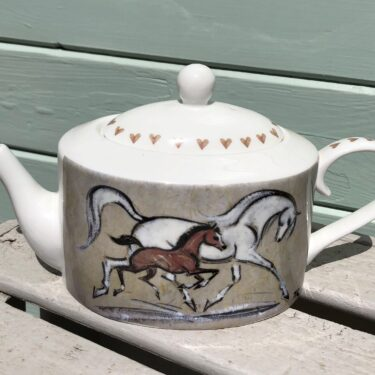 Horse Teapots