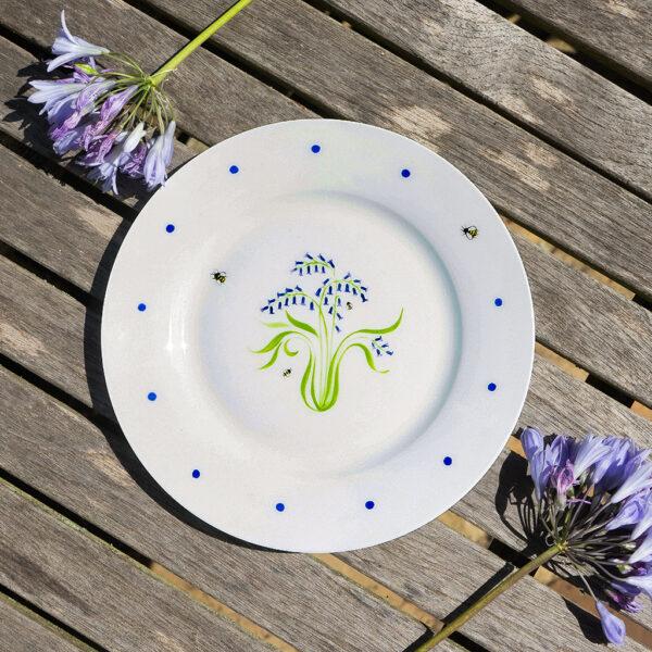 bluebell plate