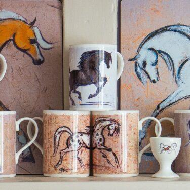 Horse Mugs