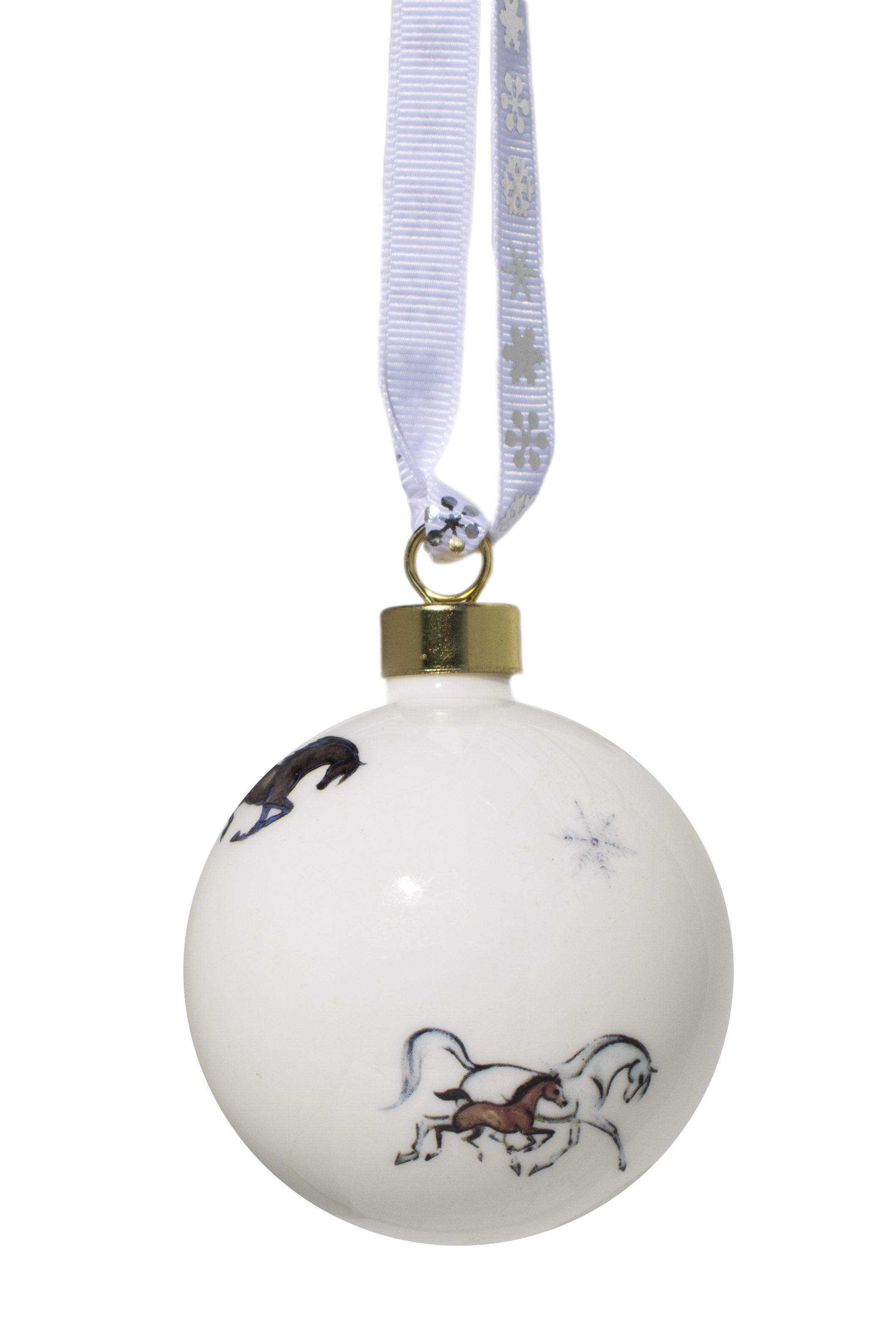 Hand decorated Horse Bauble