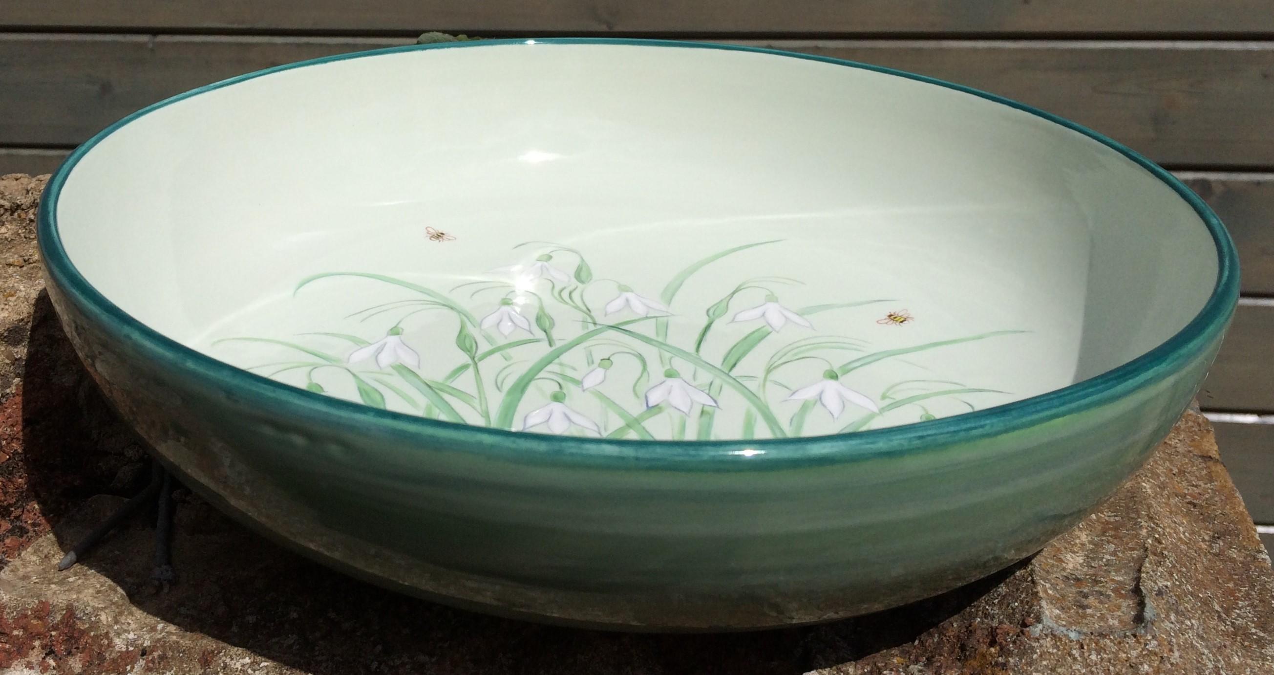 Snowdrops Bowl