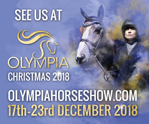 Will we see you at Olympia Horse Show 2018?