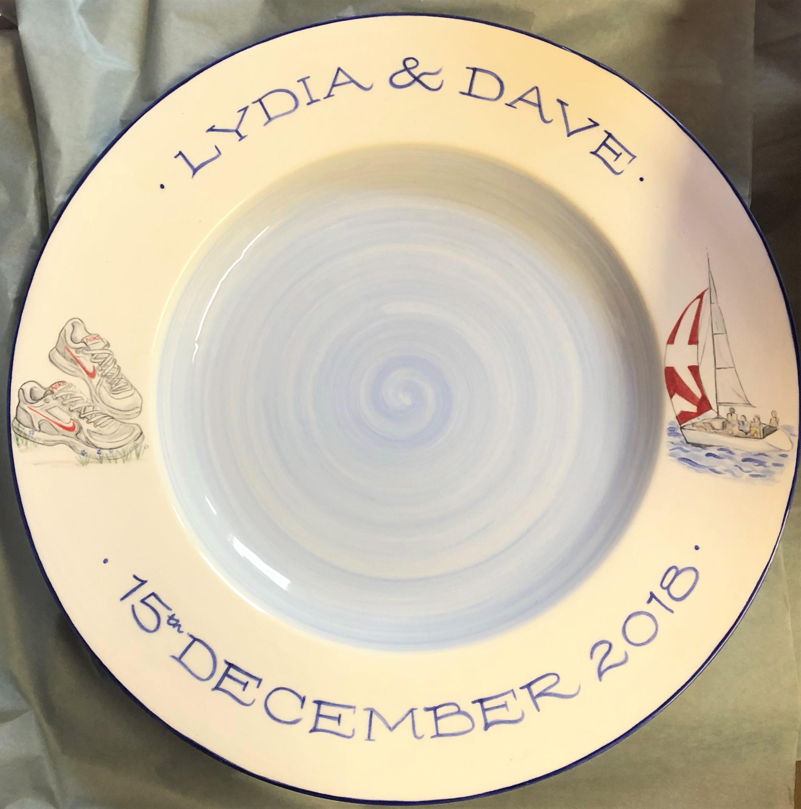 Wedding Signing Plates