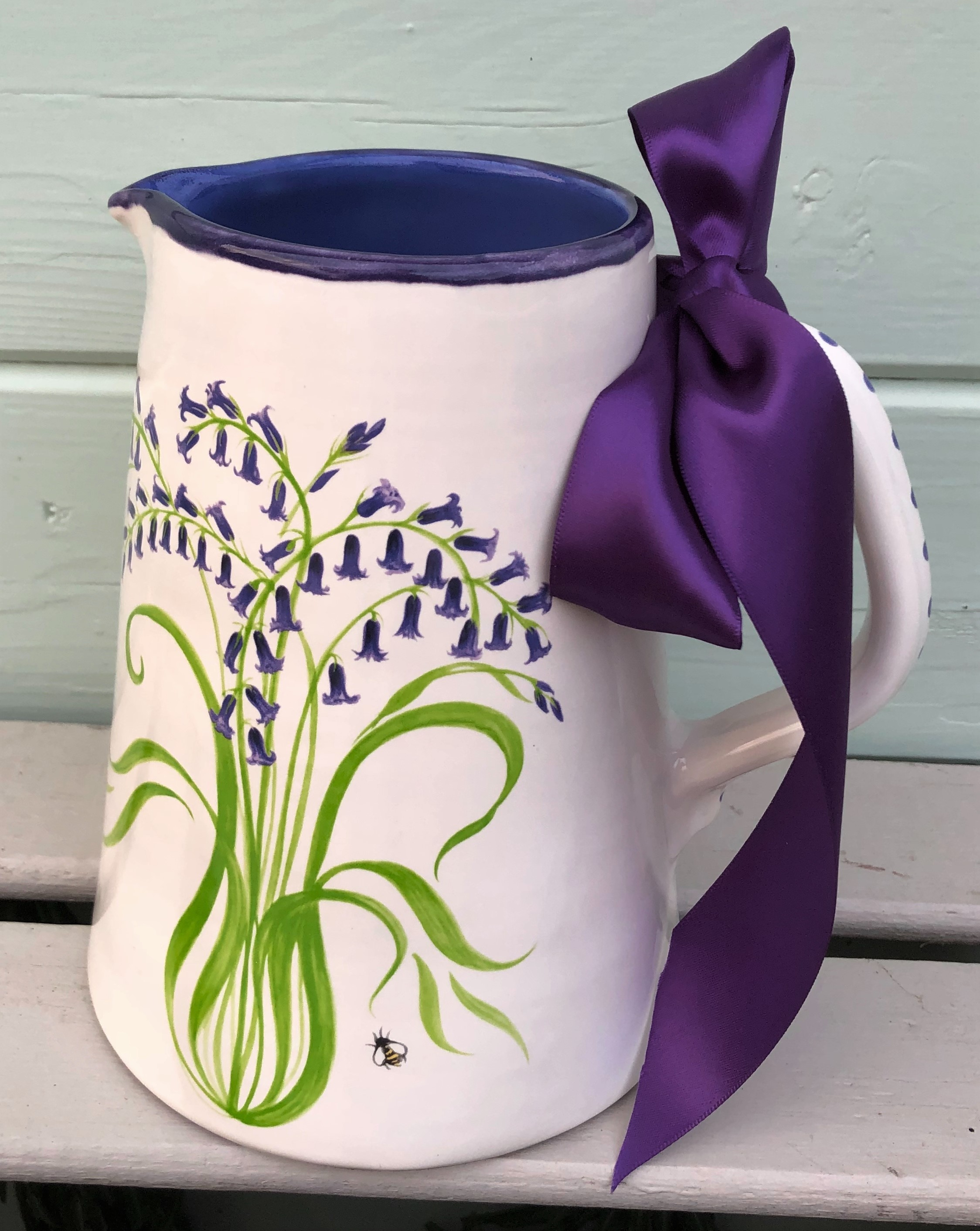 Bluebell Pottery Jug £65