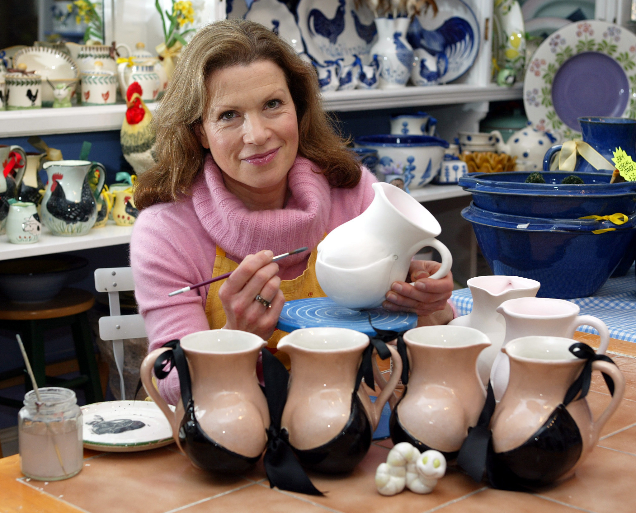 Bespoke Jugs for 'I'm a celebrity get me out of here'