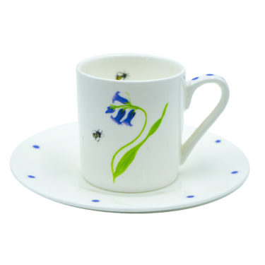 Bluebell espresso cup & saucer