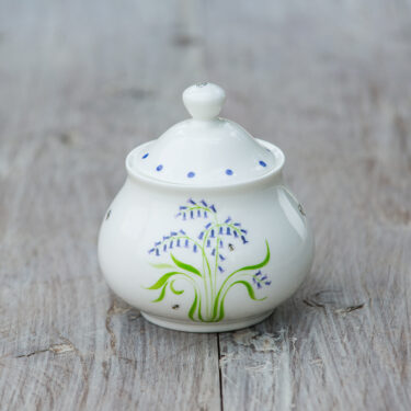 bluebell sugar pot