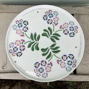 Auricula Porcelain Cake Stand