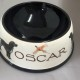Personalised Large Pottery Dog Bowl