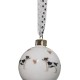 Smooth Jack Russell and Hearts Bauble £14.50