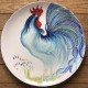Large Cockerel Plate
