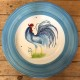 Round Cockerel Plate