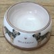 Personalised Pottery Dog Bowl