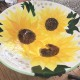 Bespoke Sunflower Dish