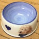 Bespoke Hand Painted Dog Bowl.  From £85.