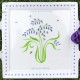 Square Bluebell Plate, from £42.50