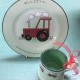 Personalised Tractor Plate and Mug